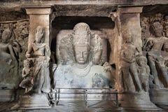Пещеры острова Elephanta стоковые изображения rf