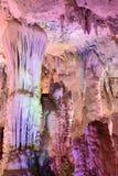 Пещеры сталактита Jiuxiang Стоковое фото RF