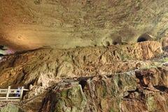 Пещеры сталактита Jiuxiang Стоковое Фото