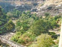 Пещеры Ajanta Стоковая Фотография RF