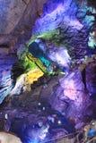 Пещеры Borra, долина Araku, Андхра-Прадеш, Индия Стоковое Фото