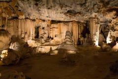 Пещеры Cango в Oudtshoorn Южной Африке Африканский ориентир ориентир Стоковые Фотографии RF