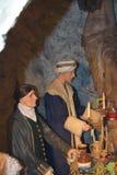14/01/2018 пещер огня ада Западное Wycombe Стоковые Фото
