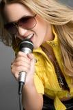 пея женщина Стоковое Изображение RF