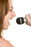 пея женщина Стоковое фото RF