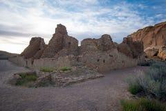 Пеламида Пуэбло, национальный парк каньона Chaco Стоковое фото RF