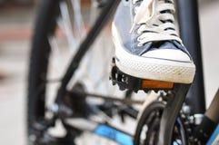 Педали горного велосипеда Стоковое Изображение RF