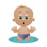 Пеленка ребенка Стоковые Фотографии RF