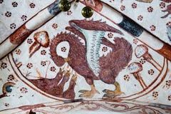 Пеликан подает его птенецы стоковое изображение rf