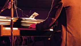 Пианист на этапе Стоковые Фото