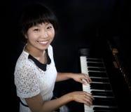Пианист стоковое изображение