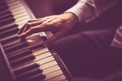 Пианист Стоковая Фотография RF
