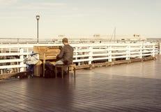 Пианист Стоковые Изображения