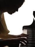 пианист стоковое изображение rf