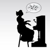 пианист Стоковое Фото