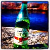 Пиво лета Стоковое Изображение