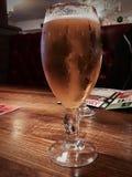 Пиво золота в стекле Стоковое фото RF