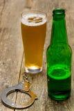 Пиво пристрастившийся стоковая фотография rf