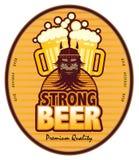 пиво сильное бесплатная иллюстрация