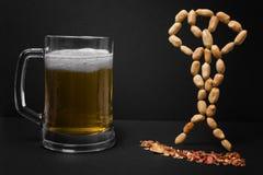 пиво смешное Стоковые Изображения