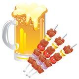 пиво Иллюстрация штока