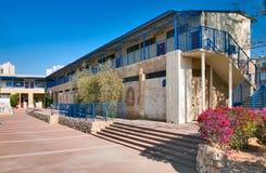 ПИВО-SHEVA, ИЗРАИЛЬ 17-ОЕ СЕНТЯБРЯ 2012: Самая старая школа в пчеле Стоковые Изображения