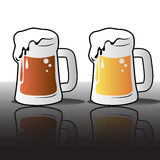 пив различные Стоковое Изображение
