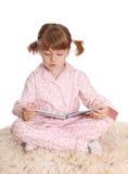 пижамы девушки маленькие стоковые фото