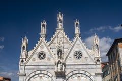 Пиза, историческая церковь стоковая фотография