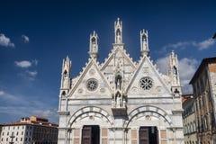 Пиза, историческая церковь стоковые фотографии rf