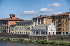 Пиза, историческая церковь стоковые фото