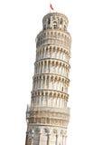 Пиза, полагаясь башня. Стоковое Изображение