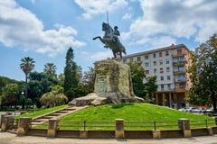 Пиза/Тоскана/Италия/май 2018: Статуя Джузеппе Гарибальди стоковые изображения rf