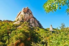 2 пика горы Zu Стоковая Фотография RF