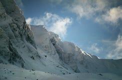 пики высокой горы Стоковое Изображение