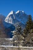 пики горы Стоковая Фотография