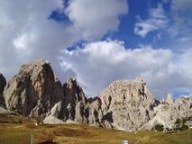 пики горы cir Стоковые Изображения