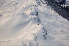пики гор горы caucasus dombay Стоковая Фотография RF