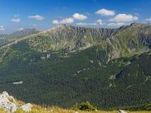 Пики гор Dumbier Стоковое Изображение RF