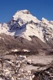 Пики и ледники Патагонии Стоковые Фотографии RF