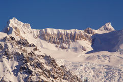 Пики и ледники Патагонии Стоковое Изображение RF