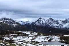 Пики снега Стоковые Фотографии RF