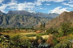 Пики Huandoy, Перу Стоковое Изображение RF