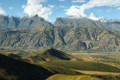 Пики Huandoy, Перу Стоковая Фотография RF