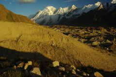 пики karakoram ii Стоковые Фотографии RF