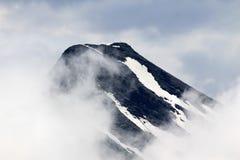 Пики Snowy гор Альпов Стоковая Фотография RF