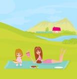 пикник парка Стоковые Изображения RF