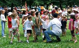 пикник дня Канады Стоковая Фотография