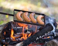 Пикник outdoors Стоковые Изображения RF