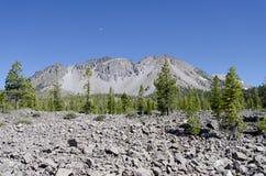 пиковое вулканическое Стоковая Фотография RF